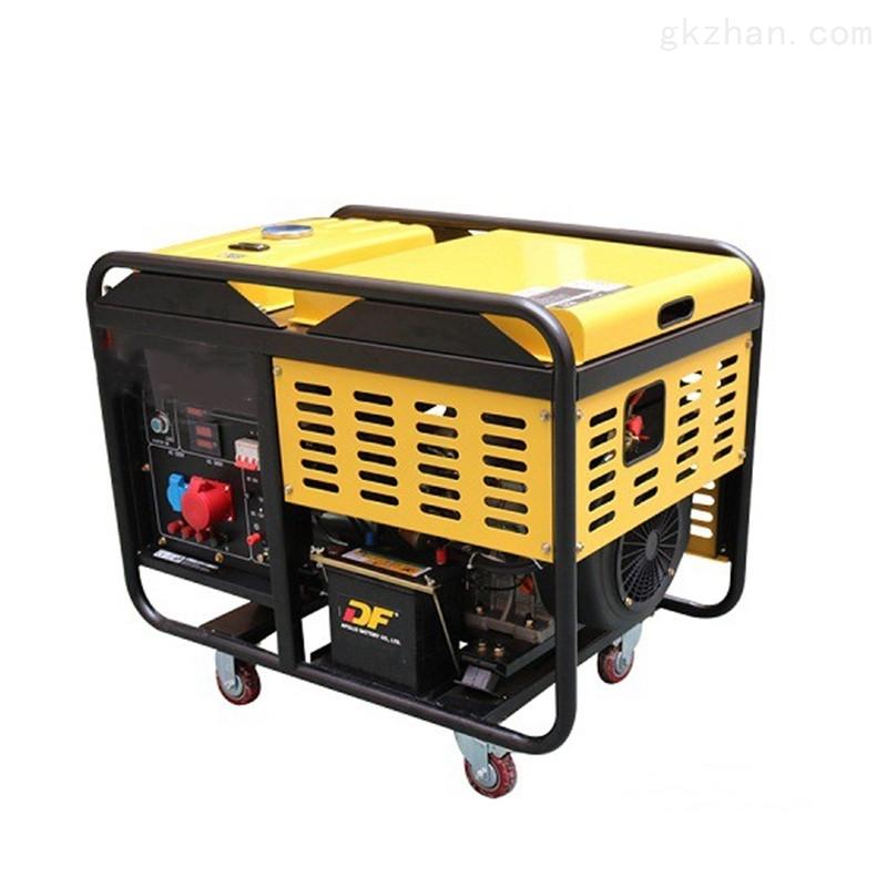 10KW静音柴油发电机组单相220V户外使用