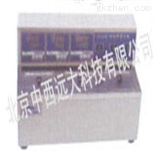 中西三孔电热恒温水槽 现货
