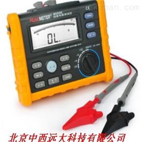 绝缘电阻测试仪(中西器材)现货