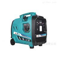 手拉移动式数码变频2KW汽油发电机