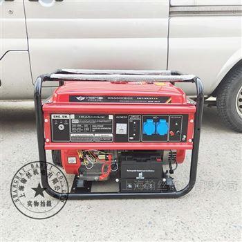5kw便携式汽油发电机
