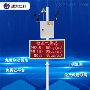RS-ZSYC建大仁科 扬尘检测仪 建筑工地实时监测