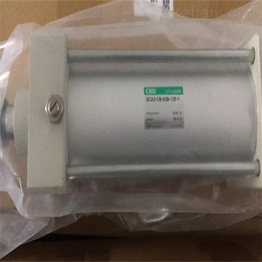 日本CKD喜开理空压气缸尺寸图