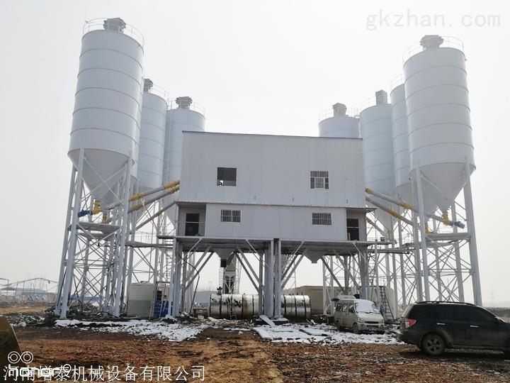 商混搅拌站厂 HZS系列混凝土搅拌站 性价比高