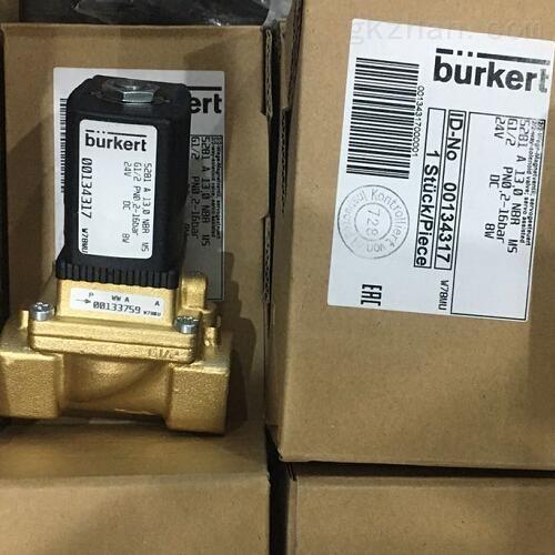 描述BURKERT三通柱塞电磁阀材质
