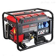 风冷小型5KW汽油发电机隆鑫LC6500单相电动