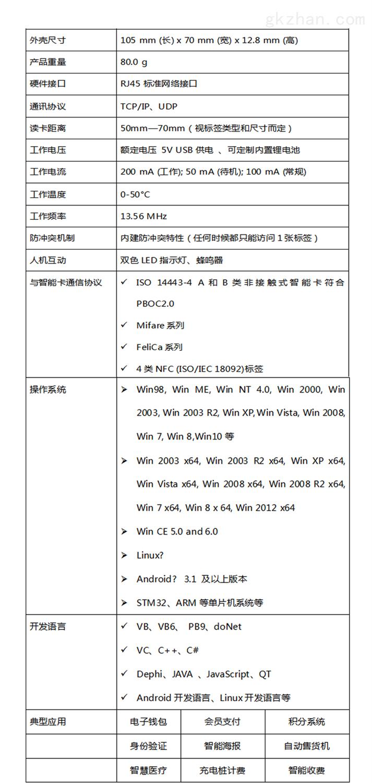 L6-E-WEB智能卡读写器