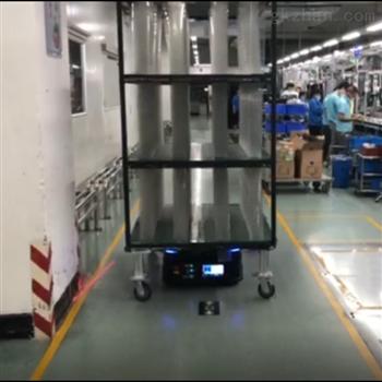 潜伏顶升搬运机器人