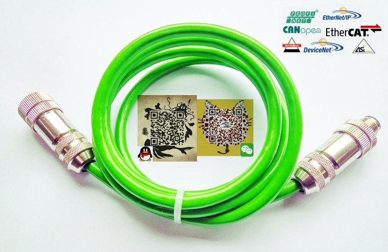 为什么选选择传感器M12以太网连接器产品  √防护等级高,能在现场安全使用