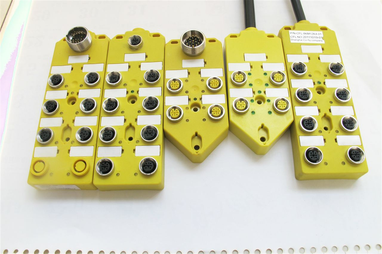 带产品名称:M12型传感器防水连接器,现场自接电缆型,针型孔型,直头弯头(不带电缆)