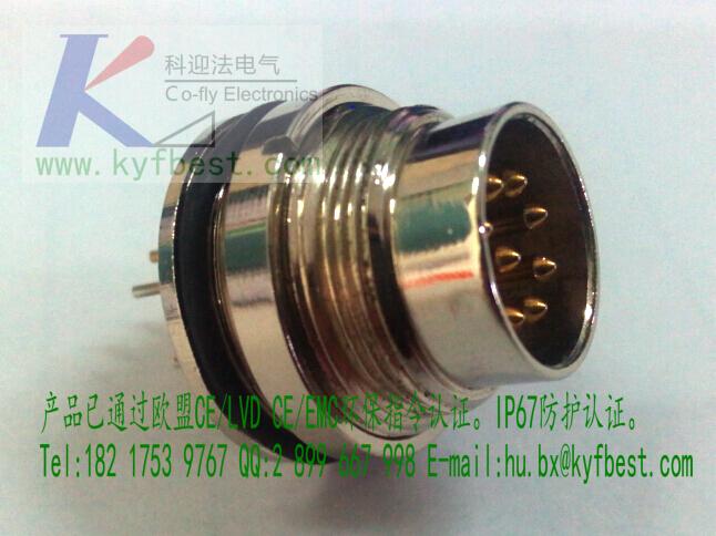 【产品芯数】 公头为180度直型。针芯数为3针、4针、5针、6针、7针、8针。