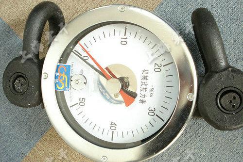 双针拉力测量表