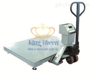 """年中促销:""""5000公斤平台秤=5000公斤移动电子地磅"""