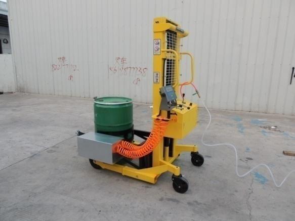 【亚津】适用于国标桶的倾倒搬运气动倒桶秤