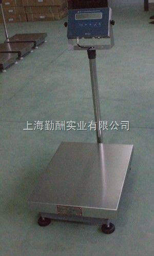 150kg工业防水电子台称,连电脑不锈钢台秤上海直销
