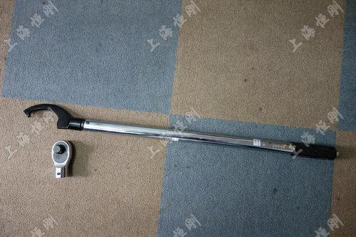 测力牌机械式扭力扳手图片(可配勾型头)