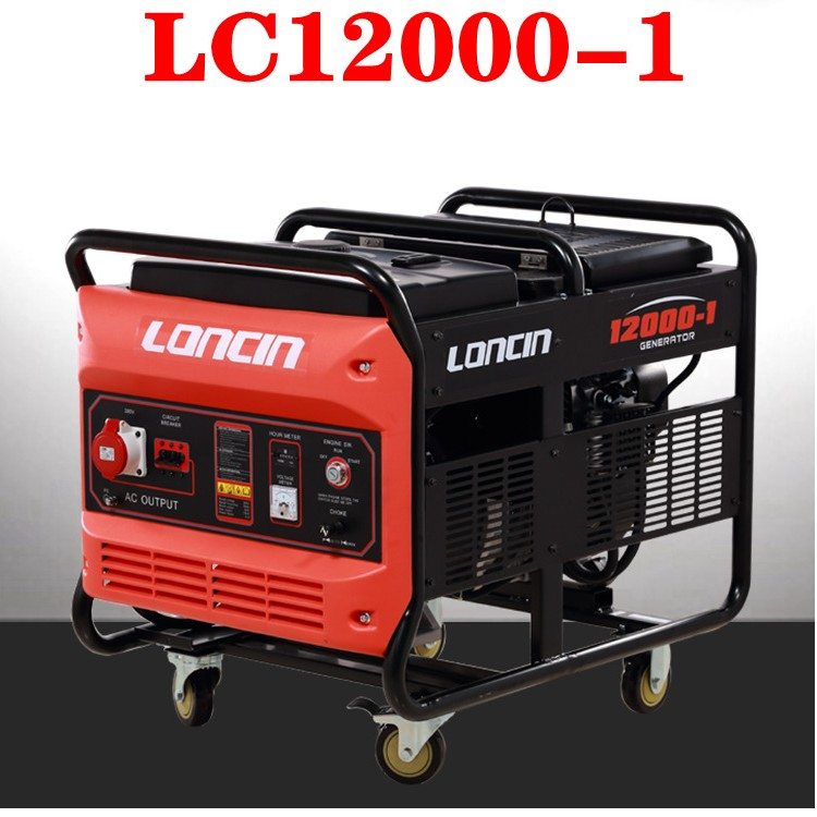 LC22000隆鑫15KW汽油发电机V型双缸动力