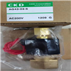 AAG43-02-5-E2E-AC220V技术资料:正品CKD电磁换向阀